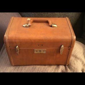 1950s Faux Leather Samsonite Train Case #4612